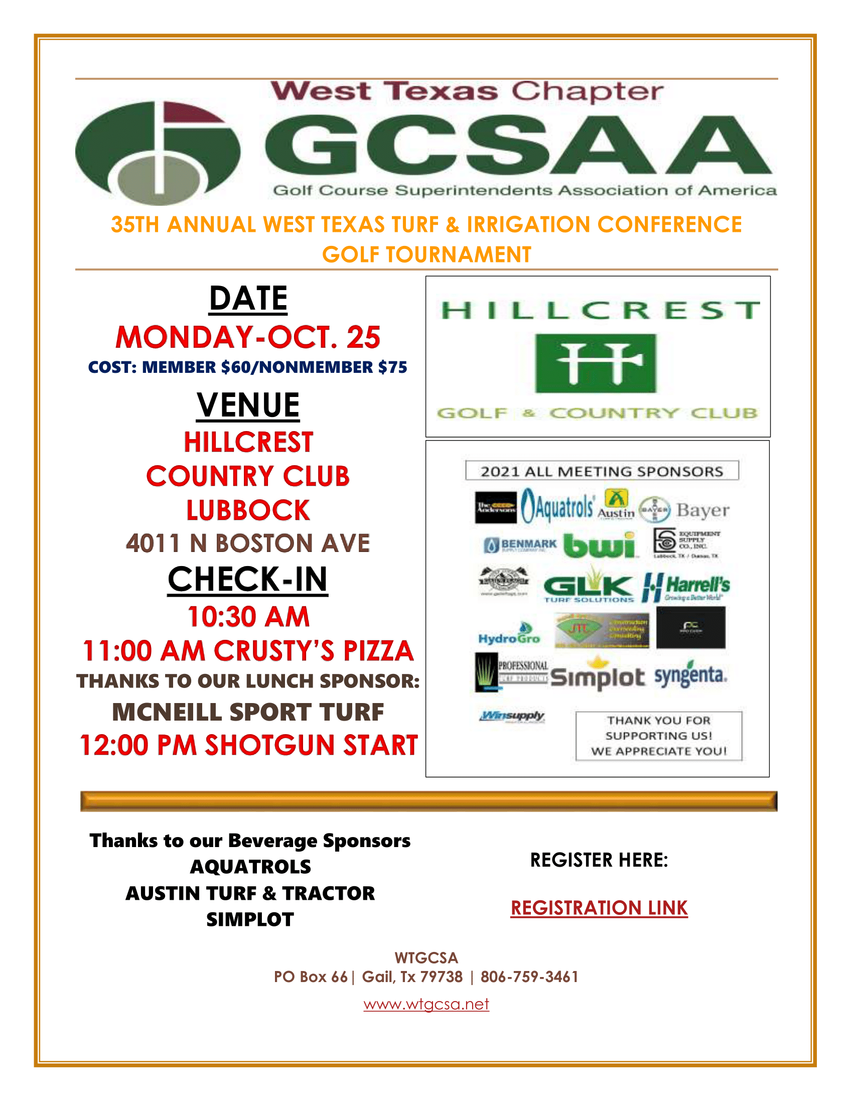 CONFERENCE GOLF FLYER-1